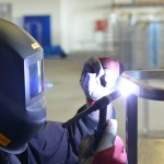 Welding and grinding